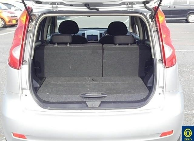 NISSAN NOTE 2012 Silver full